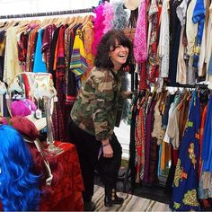 Read about the lovely Sally owner of @prettyflamingosvintage on our blog! www.rexshop.co.uk #sunday #reading