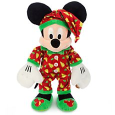 Mickey Mouse Plush - Holiday Pajamas - Medium - 15''