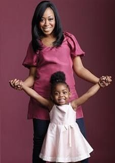 Tichina Arnold and daughter