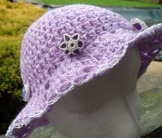 Summer Fun Cotton Hat  MOTHERS DAY SPECIAL by HahnMade on Etsy, $14.50