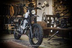 Fotograaf regio Alphen aan den Rijn/Leiden-Honda NX 650 Scrambler