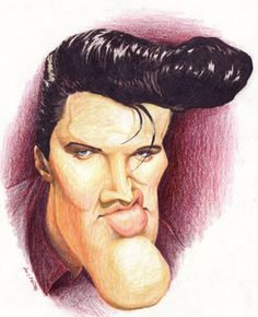 caricatures image 2848 elvis presley caricature view popular images and share on facebook - Caricature En Ligne Gratuite
