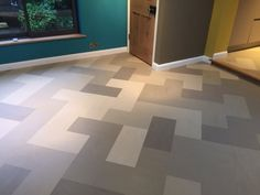 Marmoleum tiles from Forbo