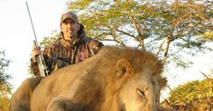 GRAPHIC CONTENT A film lays the barbaric 'sport' bare as it follows Aaron Neilson, who has killed 15 lions plus buffalo, elephants and leopards, through a hunt
