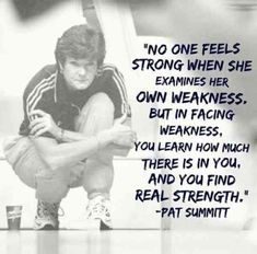 """No one feels strong when she examines her own weakness. But in facing weakness, you learn how much there is in you, and you find real strength. Basketball Workouts, Basketball Quotes, Basketball Outfits, Basketball Motivation, Softball Quotes, Senior Quotes, Basketball Drills, Basketball Court, Soccer"