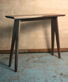 Cenzo Design   Modern Furniture Pittsburgh   Walnut Console Table