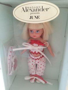 Madame Alexander Petite June Doll Brand New In Box   eBay