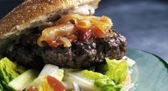 Hjemmelavet burger... Flere opskrifter inkl. ny humus opskrift