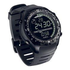 Suunto X-Lander Military  http://www.suunto.com/en-US/Products/Sports-Watches/Suunto-X-Lander/Suunto-X-Lander-Military/?categoryId=3