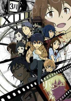 anime, boku dake ga inai machi, and erased image