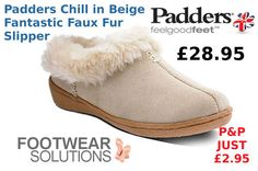 Great Padders Chill deals on our Ebay Store Fall Winter, Autumn, Faux Fur, Chill, Slippers, Footwear, Beige, Store, Shopping
