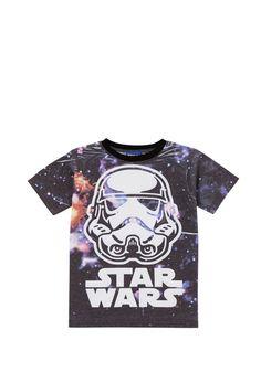 Clothing at Tesco | Star Wars Stormtrooper T-Shirt > tops > Tops & T-shirts > Kids