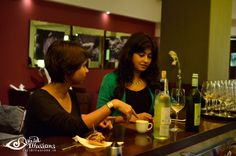 Najeshda and Snigdha pairing two of the most complex yet enigmatic beverages, Wine and Tea!
