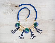 PEACOCKS  Statement GreenBlue by pardes, $65.00
