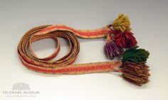 Band - Telemark Museum / DigitaltMuseum | Beltestakk Museum, Band, Bracelets, Jewelry, Sash, Jewels, Schmuck, Jewerly, Bracelet