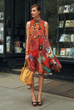 Maeve Larkhill Swing Dress   <>  @kimludcom