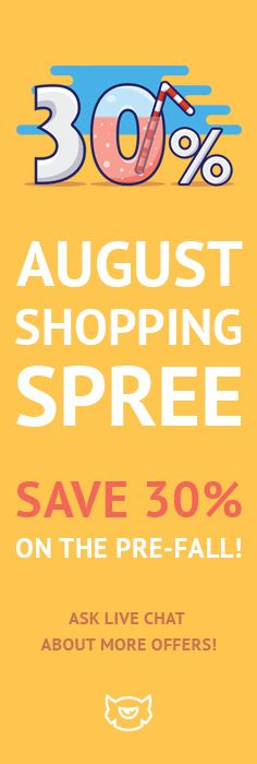 Let the Sadness Go Away August Sale Will Make Your Day! Join Our August Shopping…