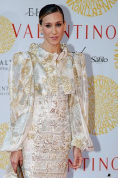 Sarah Jessica Parker Photos - 'Valentino In Rome, 45 Years Of Style' Exhibition Opening - Zimbio Ny Style, Love Her Style, Style Icons, Sarah Jessica Parker Lovely, Style And Grace, Red Carpet Looks, Couture Collection, Valentino, Style Inspiration