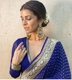 Silk Saree Blouse Designs, Saree Blouse Patterns, Fancy Blouse Designs, Blouse Neck Designs, Silk Sarees, Saris, Traditional Blouse Designs, Latest Saree Blouse, Blouse Styles