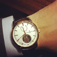 hodinkee:  New @vacheron1755 14-day Tourb. Great buy at $279,800. (Taken with instagram)