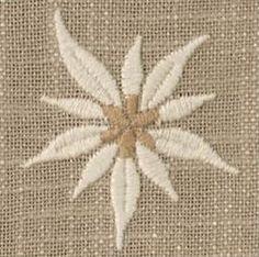 Ronda Mitteldecke Edelweiss, 85 cm de diámetro