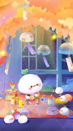 Cute Pastel Wallpaper, Soft Wallpaper, Kawaii Wallpaper, Galaxy Wallpaper, Cute Cartoon Images, Cartoon Art Styles, Cute Cartoon Wallpapers, Kawaii Illustration, Cute Kawaii Animals