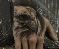 eagle tattoo hand - Szukaj w Google                                                                                                                                                      More