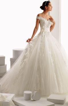fairytale wedding dress by Rosa Clara