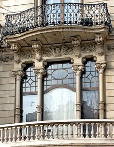 Casa Malagrida. Architect: Joaquim Codina i Matali. Barcelona - Pg. de Gràcia