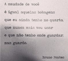 Saudade #portugues