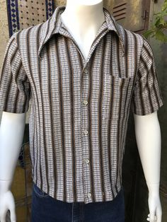 316c9e60d36 60s JANTZEN Cabana Beach Wear Top Shirt-Jacket
