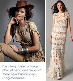 macrame fashion ideas