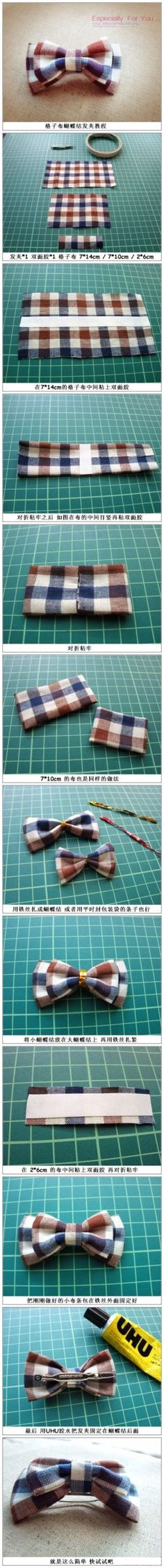 Cloth bow
