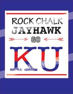 KU Rock Chalk Jayhawk