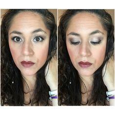 Younique MOTD (Makeup of the Day)  💜Taffeta Liquid Concealer 💜Taffeta/ Chiffon Pressed Powder Foundation 💜Hermosa Beachfront Bronzer 💜Seductive Pressed Blusher Addiction Palette #3  💜Smitten (Lid, Brow-bone) 💜 Ecstatic (Crease, lower liner) 💜Perfect Precision Pencil 💜3D Fiber Lashes+ Mascara 💜Pouty Lip Liner 💜Swanky Opulence Lipstick