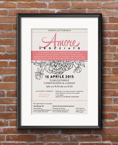Serata letteraria AMORE SBOCCIATO - 16 aprile 2015 #thinkdesign