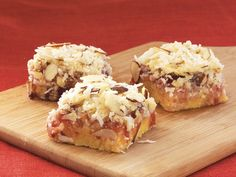 Coconut Cherry Bars - mmmm, these look good.  want to try this recipe.