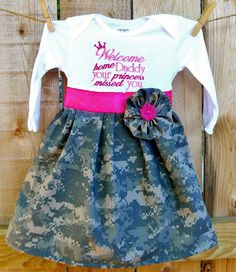 Military Homecoming Dress All Branches by ChartreuseGiraffe, $32.00 For all my military friends!