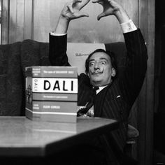 Dali Salvador Dali Art, Muse, Affordable Wall Art, Cool Posters, Contemporary Artists, Canvas Frame, Portrait Photography, Black And White, People