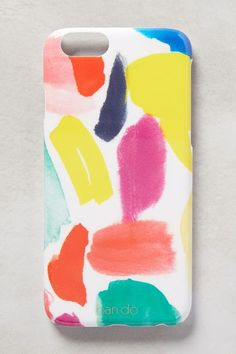 Colorful iPhone case #anthrofave