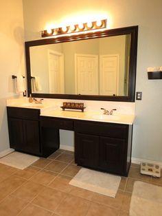 rustoleum oil rubbed bronze spray paint hardware bathroom vanity faucet 7