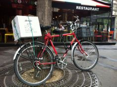 #Deejo delivery in Paris. Go green!