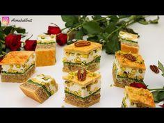 بقلاوة مالحة على طريقة طاجين الباي روسات روعة و ساهلة - YouTube Biscuits, Tunisian Food, Cheesecake, Make It Yourself, Buffets, Quiches, Cube, Desserts, Recipes