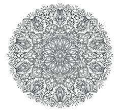Image result for mandala coloring pages advanced level