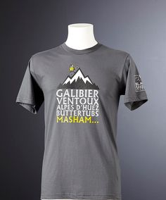 "Our Black Sheep ""Bike Legends"" T-shirt pays homage to some of the legendary  climbs in France   Yorkshire. 4a9560ec2"