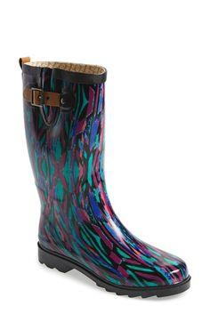 Peacock Rain Boots by Chooka | Peacock Panache | Pinterest ...