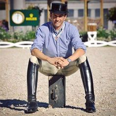 Equestrian boots Best Picture For Equestrian Fashion models For Your Taste You are looking for something, and it is going to tell you exactly what you are looking for, and you didn't find that picture Horse Riding Boots, Leather Riding Boots, Riding Gear, Riding Helmets, Men's Equestrian, Equestrian Outfits, Equestrian Fashion, Mens High Boots, Tall Boots