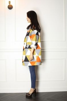 CUL三角幾何外套 |DRESS CODE