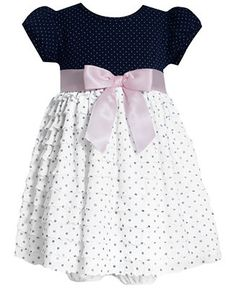 This princes dress is adorable. It comes with white underwear. 3-24 months. On sale: $17.