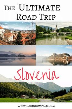 Could #Slovenia be #Europe's greatest small country? Here's your complete #itinerary for the ultimate #roadtrip through Slovenia! #travel #travelblog #adventure #centraleurope #ultimatetravelguide #travelguide #Ljubljana #LakeBled #Castles #Adriaticsea